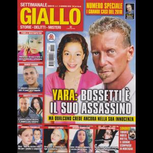 Giallo - n. 1 - settimanale - 9 gennaio 2019 - numero speciale - i grandi casi del 2018