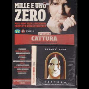 Cd Musicali Di Sorrisi - n. 2 - settimanale - gennaio 2019 - Mille e uno zero - Renato Zero - Cattura - cd + libretto