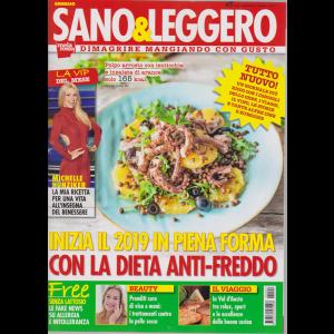 Sano & Leggero - n. 1 - gennaio 2019 - mensile -