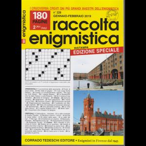 Raccolta Enigmistica - n. 226 - gennaio febbraio 2019 - edizione speciale - 180 pagine