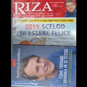 Riza Psicosomatica - n. 455 - mensile - gennaio 2019 - + il libro di Raffaele Morelli - Come trovare l'armonia in se stessi