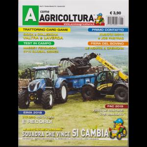 A Come Agricoltura - n. 61 - mensile - dicembre 2018