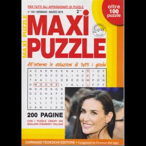 Maxi Puzzle - n. 154 - gennaio - marzo 2019 - trimestrale - oltre 100 puzzle - 200 pagine