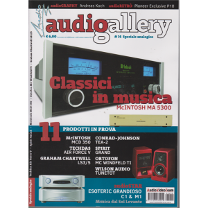 Supplemento ad Audioreview n. 405 - Audiogallery -  gennaio - febbraio 2019 -