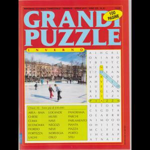 Grandi puzzle - inverno - n. 81 - trimestrale - febbraio - aprile 2019 - 100 pagine