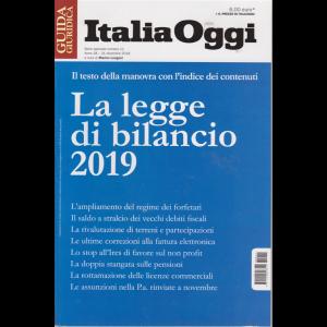 Guida Italia Oggi - La Legge Del Bilancio 2019 - n. 11 - 31 dicembre 2018 -