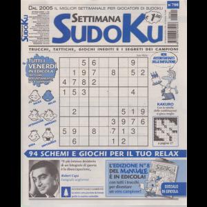 Settimana Sudoku - n. 700 - settimanale - 11 gennaio 2019 -