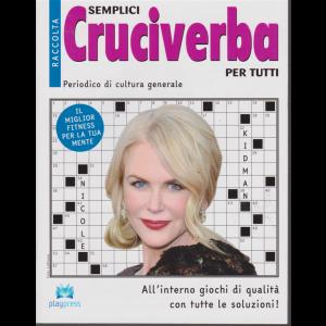 Raccolta semplici cruciverba per tutti - n. 28 - bimestrale - 4/1/2019 -