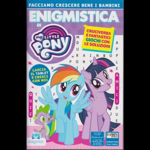 Enigmistica di My little pony n. 10 - gennaio - febbraio 2019 - bimestrale -