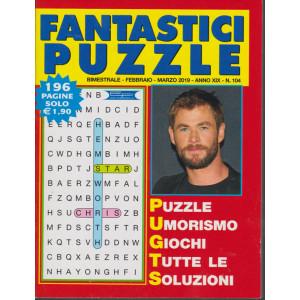 Fantastici Puzzle - n. 104 - bimestrale - febbraio - marzo 2019 - 196 pagine