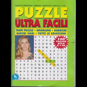 Puzzle ultra facili - n. 86 - bimestrale - febbraio - marzo 2019 - 100 pagine