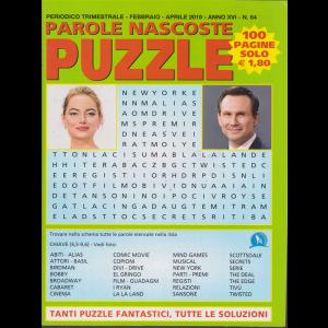 Parole Nascoste Puzzle - n. 64 - trimestrale - febbraio - aprile 2019 - 100 pagine