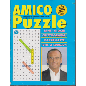 Amico Puzzle - n. 85 - trimestrale -febbraio - aprile 2019 - 196 pagine - Carlo Conti