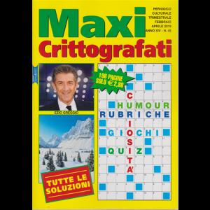 Maxi Crittografati -n. 45 - trimestrale - febbraio - aprile  2019 - 196 pagine