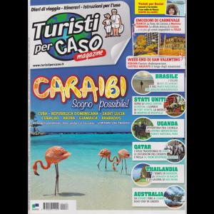 Turisti Per Caso - n. 133 - gennaio 2019 - mensile