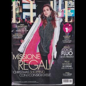 Elle + Elle gourmet - n. 16- settimanale - 8/12/2018 - 2 riviste