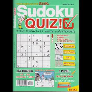 Sudoku Quiz - n. 19 - bimestrale - gennaio - febbraio 2019 -
