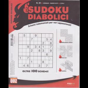 Solo Sudoku Diabolici - n. 20 - gennaio - marzo 2019 - trimestrale
