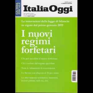 Guida fiscale  Italia Oggi - I Nuovi Regimi Forfetari - n. 1 - 11 gennaio 2019 - serie speciale