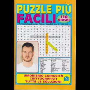 Puzzle Piu' Facili - n. 64 - bimestrale - febbraio - marzo 2019 - 110 giochi