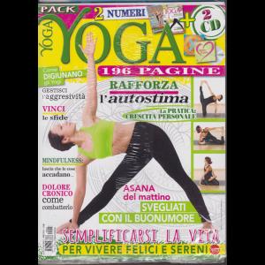 Vivere lo yoga pack - n. 3 - bimestrale - gennaio - febbraio 2019 - 2 numeri + 2 cd - 196 pagine