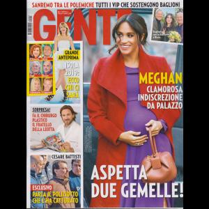 Gente - n. 3 - 26/1/2019 - settimanale