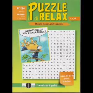 I Puzzle Di Relax - n. 294 - mensile - dicembre 2018