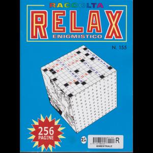 Raccolta Relax enigmistico - n. 155 - bimestrale - agosto - sttembre 2017 - 256 pagine