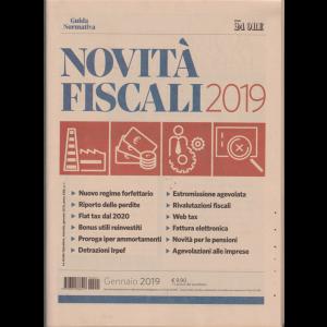 Novità fiscali 2019 - Guida normativa - n. 1 - gennaio 2019 - mensile