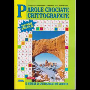Parole Crociate crittografate - n. 310 - mensile - febbraio 2019 - 100 pagine