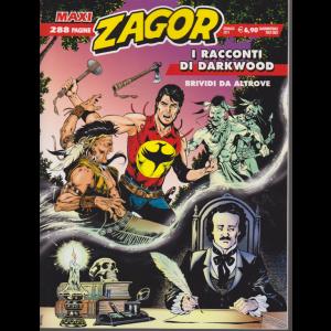 Zagor Maxi - I Racconti Di Darkwood - Brividi da altrove - n. 35 - gennaio 2019 - quadrimestrale - 288 pagine