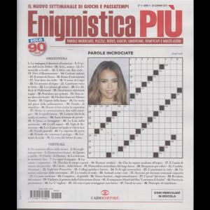 Enigmistica più - n. 4 - 30 gennaio 2019 - settimanale