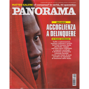 Panorama - n. 5 - 23 gennaio 2019 - settimanale