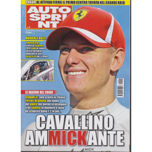 Auto Sprint - n. 4 - 22/28 gennaio 2019 - settimanale -
