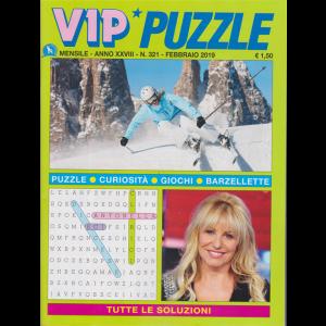 Vip puzzle - n. 321 - mensile - febbraio 2019 - Antonella Clerici