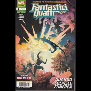 Fantastici Quattro - n. 386 - Quando colpisce funerea - mensile - 24 gennaio 2019 -
