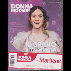 Donna Moderna + Starbene - n. 6 - 23 gennaio 2019 - settimanale - 2 riviste