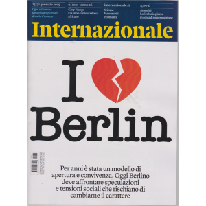 Internazionale - n. 1291 - 25/31 - gennaio 2019 - settimanale