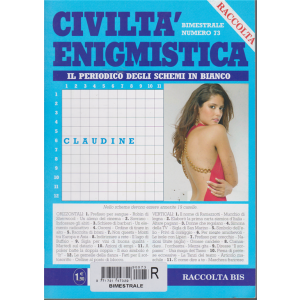 Raccolta - Civiltà enigmistica - n. 73 - bimestrale -