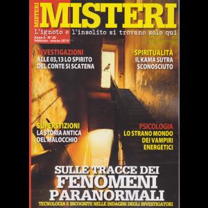 Misteri - n. 20 - febbraio - marzo 2019 - bimestrale -