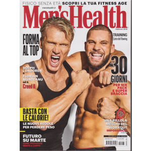 Men's Health - n. 203 - mensile - 23/1/2019 -