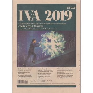 Iva 2019 - febbraio 2019 - mensile - n. 1 -