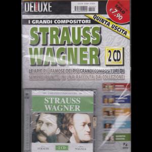 Saifam Music Deluxe  - I grandi compositori - Strauss Wagner - 2 cd - quinta uscita