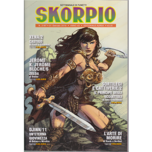 Skorpio - n. 2187 - 31 gennaio 2019 - settimanale di fumetti
