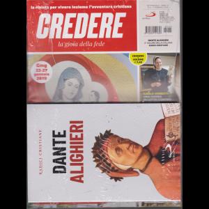 Credere + il libro Dante Alighieri - n. 5 - 3 febbraio 2019 - settimanale - rivista + libro