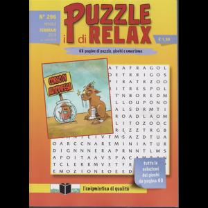 I puzzle di relax - n. 296 - mensile - febbraio 2019 -