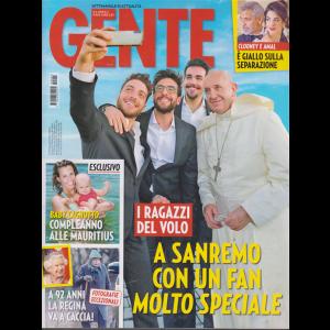Gente - n. 5 - settimanale di attualità - 9/2/2019