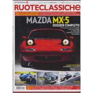 Ruoteclassiche Split + Ruoteclassiche le mitiche Coupè - n. 362 - febbraio 2019 - mensile- 2 riviste