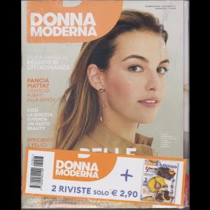 Donna Moderna + Giallo zafferano - n. 7 - 30 gennaio 2019 - settimanale - 2 riviste