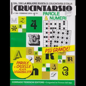 Crucintarsio - Parole & Numeri - n. 356 - febbraio 2019 - mensile